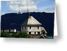 Hotel Roanoke And Star Greeting Card