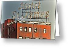 Hotel St. James Greeting Card