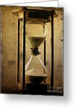 Hourglass  Greeting Card by Bernard Jaubert