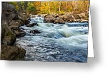 Housatonic River Autumn Greeting Card