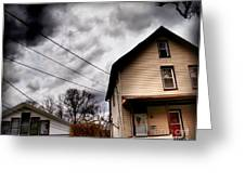 Old House 3 Greeting Card