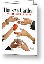 House And Garden 999 Christmas Gifts Cover Greeting Card