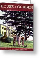 House And Garden Houses For All Tastes Cover Greeting Card