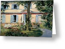 House At Rueil Greeting Card