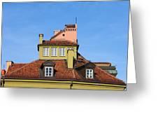 House Attic Greeting Card by Artur Bogacki