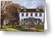 house Du Portail  Greeting Card