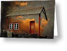 House In The Clouds Greeting Card