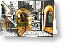 House Of Dreams Greeting Card