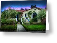 House Of Our Dreams Greeting Card by Cary Shapiro