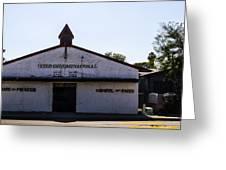 House Of Prayer Greeting Card