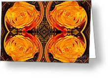 House Of Roses Greeting Card