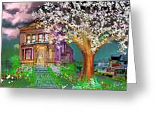 House On Milbert Street Greeting Card