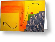 House On The Edge Of Aliveness Greeting Card