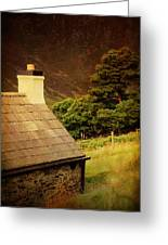 House On The Hills. Wicklow. Ireland Greeting Card