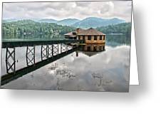 House On The Lake Greeting Card