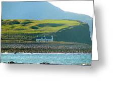 House On The Shore Greeting Card