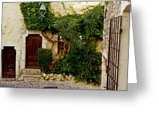 House Saint Paul De Vence France Dsc02353  Greeting Card