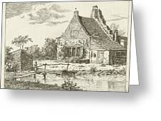 House Snaatburg Maarssen, The Netherlands Greeting Card