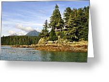 House Upon A Rock Greeting Card