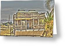 Houseboat 2 Greeting Card