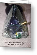 Housebound Days Greeting Card