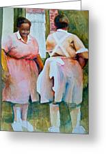 Housekeepers Of Soniat House Greeting Card