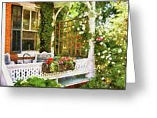 Houses - New Hope Pa - Come Stay With Us  Greeting Card