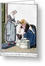 Housewife, 1811 Greeting Card