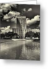 Houston City Hall Greeting Card