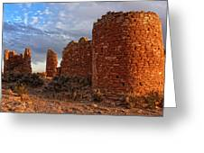 Hovenweep Castle Greeting Card