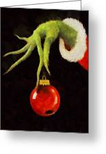How The Grinch Stole Christmas Greeting Card
