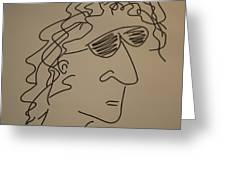 Howard Stern Greeting Card