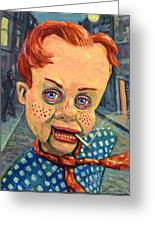 Howdy Von Doody Greeting Card