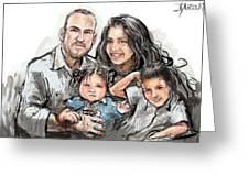 Hoy Family Greeting Card