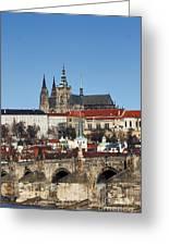 Hradcany - Prague Castle Greeting Card