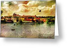 Hradczany - Prague Greeting Card