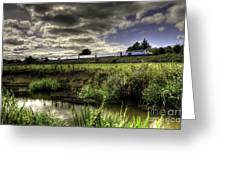 Hst In The Culm Valley  Greeting Card