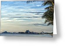 Hua Hin Coastline 02 Greeting Card