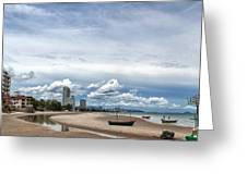 Hua Hin Coastline Greeting Card