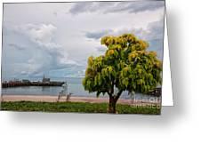 Hua Hin Harbour Greeting Card