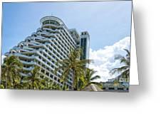Hua Hin Hotel Greeting Card