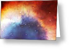 Hubble - Helix Nebula Comet - Like Filaments Greeting Card