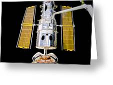 Hubble Space Telescope Redeployment  Greeting Card