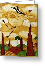 Soaring In Style Greeting Card