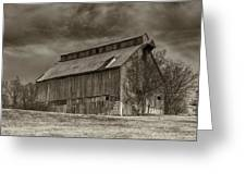 Huber Ferry Barn Osage County Mo Dsc00720 Greeting Card