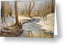 Hubers' Woods Greeting Card