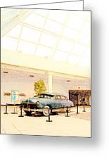 Hudson Car Under Skylight Greeting Card by Design Turnpike