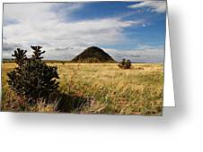 Huerfano Butte Greeting Card