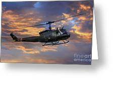 Huey - Vietnam Workhorse Greeting Card