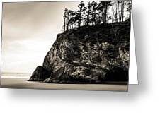 Hug Point Oregon No. 1 Greeting Card